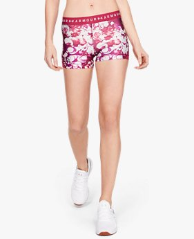 Women's HeatGear® Armour Shorty Print